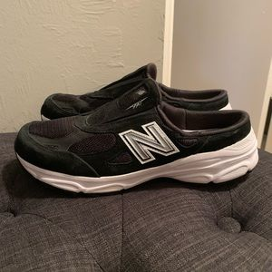New Balance 990 women's slip on sneakers.